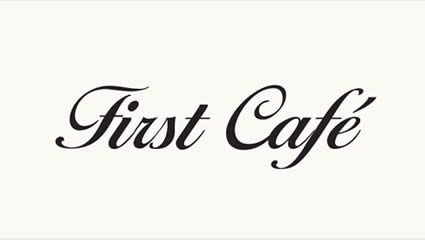 First Cafe Premium Coffee Pods logo