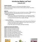 Peets Introduces Mighty Leaf Tea page 1