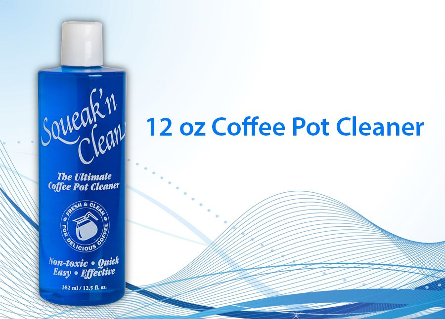 Coffee Maker Cleaner Recipe : Squeak NClean First Choice Coffee Service