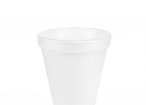 12 oz White Foam Cup Any Size 16 Lid Will Fit