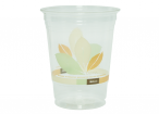 16 Oz RPET cup Made form 20% Post-Consumer Recycled Material