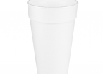 20 oz White Foam Cup Any Size 16 Lid Will Fit
