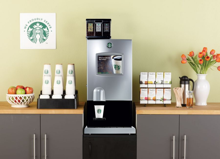 Exceptional Brochures. Starbucks Interactive Cup® Digital Brewer Good Looking
